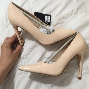 NEW! Forever 21 Nude Pumps